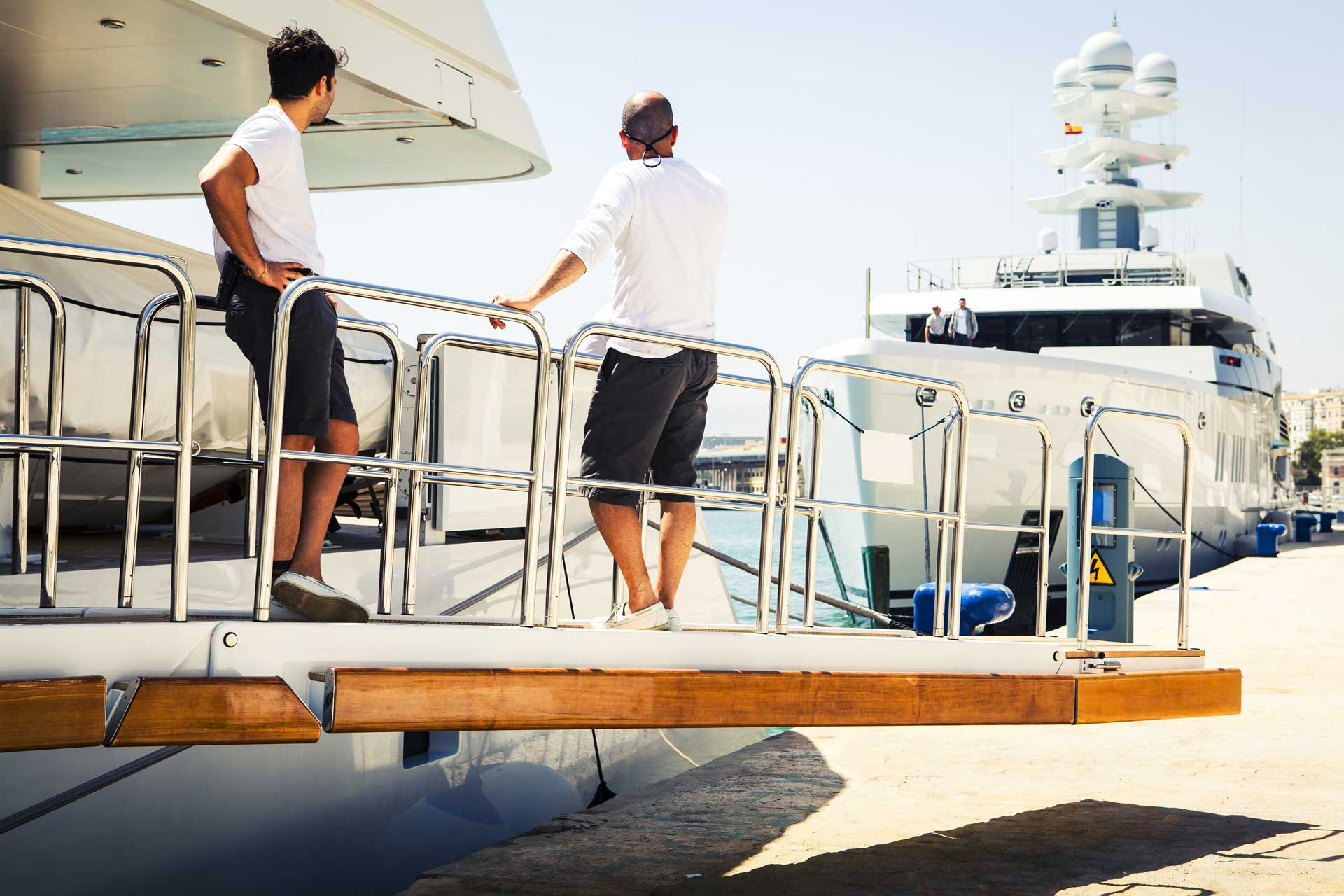 Athens Gold Yachting - Crew Services