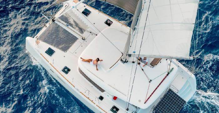 Athens Gold Yachting - X-Plorer aerial