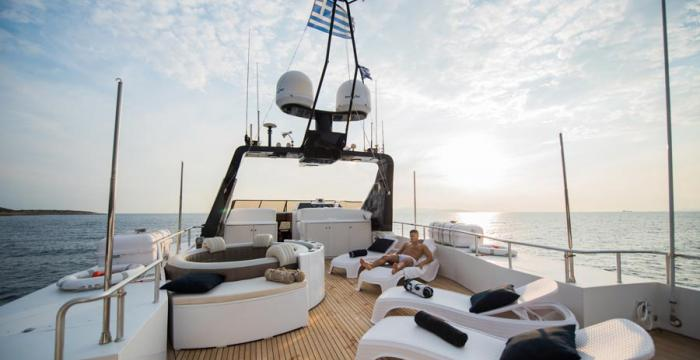 Athens Gold Yachting - Andrea / Deck