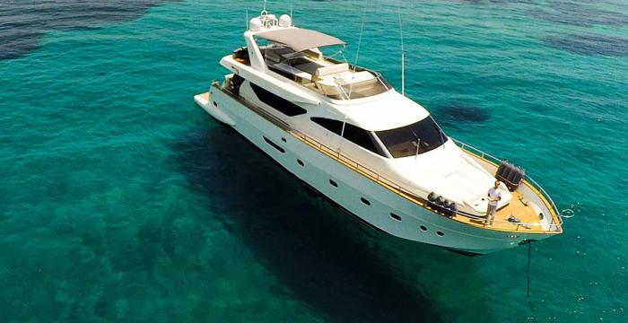 MY Freedom - Athens Gold Yachting / Aerial
